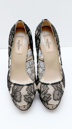 #stylish Lace pumps...