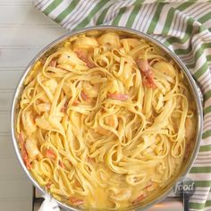 Lemon pasta cream sauce A simple shrimp pasta with tons of flavor! The lemon cream sauce adds such a nice, bold zing to this pasta. Healthy Recipes, Fish Recipes, Seafood Recipes, Gourmet Recipes, Dinner Recipes, Cooking Recipes, Recipies, Lemon Cream Sauce Pasta, Lemon Cream Sauces