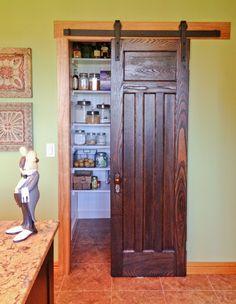 Small Sliding Door rustica ultramodern barn door hardware raw steel 8ft track $436