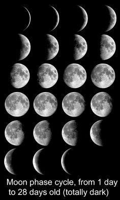 space images, moon, phases - Google Search