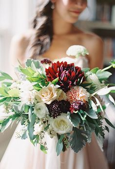 Dahlia Wedding Bouquets | Brides