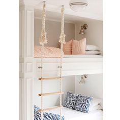 """""""Cute bunk design via: http://houzz.com/photos/22163263"""""""