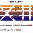 STUDENTS WILL PRACTICE RECOGNIZING PARALLEL LINES IN POLYGONS AND OTHER KINDS OF FIGURES....