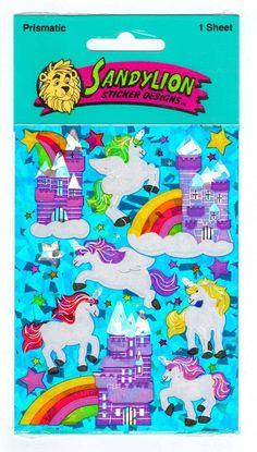 Sandylion Prismatic Unicons Stickers Maxi by CollectorsWarehouse