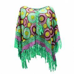 #crochetponcho #crochetinspiration http://www.miss-june.com/vetement.php?rub=collection-permanente&id=D80