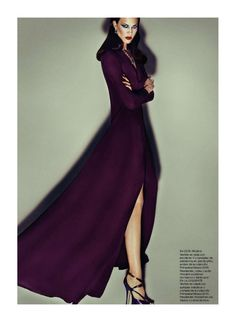 Gucci for Harpers Bazaar ....love the color