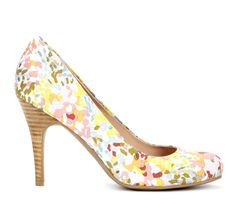 {Marina round toe pump} Sole Society - this is such a perfect spring floral print!
