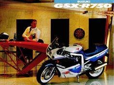 1989 Suzuki GSX-R 750 #Motorcycle #Sportsbike #Suzuki
