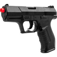 Whetstone M-305 Airsoft Gun with 25 6mm Bbs Airsoft Starter Set by Whetstone. $12.99. The M-305 6mm Airsoft Pistol by Whetstone™ is ideal for shooting competitions. Its 1:1 scale modeling makes it very realistic. Its plastic shell makes the M-305 very durable. This extraordinary air sport gun utilizes a spring operated firing mechanism to shoot 6 mm BBs. Its clip holds up to 8 rounds offering you plenty of fire power. Don't be caught without a sidearm in the heat of battle!
