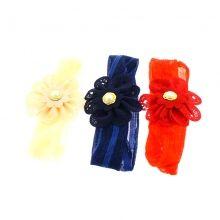 Bandeau sublimé d'une fleur à perle