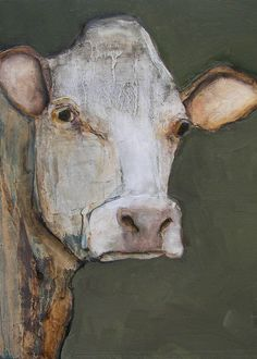 Have to find my purple cow painting. COW 8 X 10 COW - Giclee print from my original oil painting - Farm Folk Art Cow Painting, Painting & Drawing, Cow Art, Collage, Art Abstrait, Watercolor Animals, Animal Paintings, Oil Paintings, Art Plastique