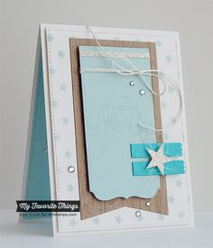 Patterned Paper : MFTWSC170, For A Special Little One