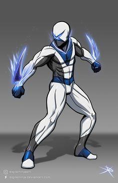 Superhero Suits, Superhero Characters, Superhero Design, Hero Academia Characters, Fantasy Character Design, Character Design Inspiration, Character Concept, Character Art, Beautiful Fantasy Art