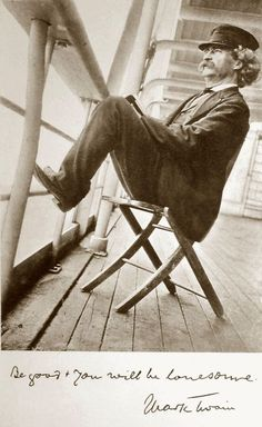 Mark Twain (photographer Walter G. Chase), 1896