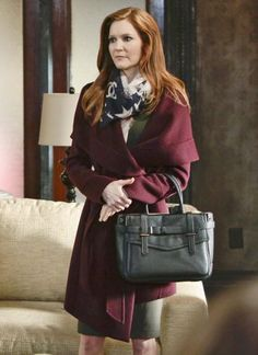 Scandal Fashion Credits: All the Details on What the Stars Wore - SEASON 4, EPISODE 16: DONNA KARAN COAT, CHANEL SCARF, MAX MARA DRESS from #InStyle
