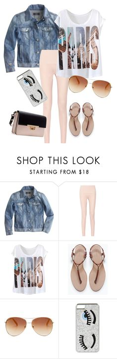 """""""Selene"""" by saltycrumpet ❤ liked on Polyvore featuring J.Crew, Eres, Zara, Tommy Hilfiger, Chiara Ferragni, women's clothing, women's fashion, women, female and woman"""