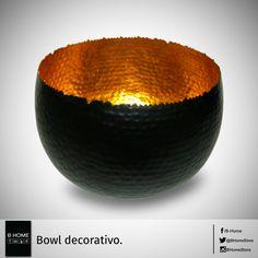 Bowl de bronce hecho a mano.