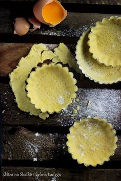 KRUCHE CIASTO – SŁODKIE I SŁONE – IDEALNE! | Sweet Recipes, Cake Recipes, Cooking Cookies, Snacks Für Party, Bread Cake, Polish Recipes, Pumpkin Cheesecake, No Bake Cake, Delicious Desserts
