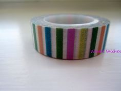 Pastel Stripes Washi Tape