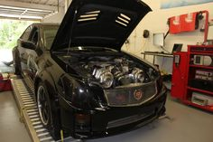 Twin Turbo CTS-V crazy