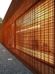 corten reinforcing mesh - Google Search