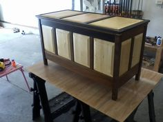 Click image for larger version Name: Views: 944 Size: KB ID: 45112 Raised Panel, Hope Chest, Entryway Tables, Woodworking, Cabinet, Storage, Larger, Projects, Furniture