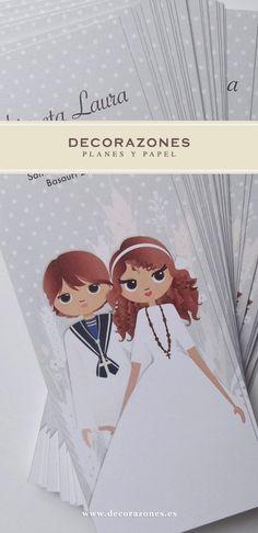 Decorazones.es _ Marca libros para dos hermanos