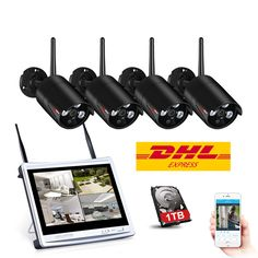 Cheap kit kits, Buy Quality kit ip directly from China kit wifi Suppliers: ANRAN CCTV System Wireless 12 Inch NVR Security Camera System IR Outdoor Wifi IP Camera Surveillance Kit Wireless Home Security Systems, Security Camera System, Security Surveillance, Security Alarm, Surveillance System, Safety And Security, Camera Surveillance, House Security, Video Security