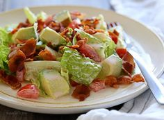 BLT Salad with Avocado Recipe on Yummly. @yummly #recipe