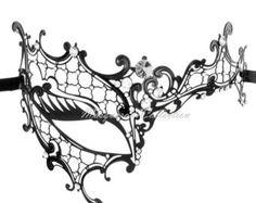 Masquerade Mask Template Patterns