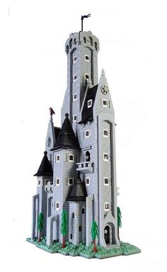 Lindon Castle done LEGO style