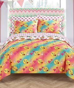Emoji Pals Love Bed-In-A-Bag Bedding Set