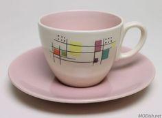 Salem Mosaic Cup and Saucer