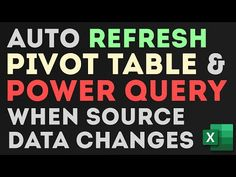 In this Free Excel Tutorial we are learning a simple line of VBA code that will automatically refresh Pivot Table report and Power Query Connections every ti. French Lessons, Spanish Lessons, Teaching French, Teaching Spanish, Educational Software, Educational Games, Data Validation, Excel Hacks, Spanish Language Learning