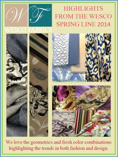 NEW FABRIC LINE FROM WESCO