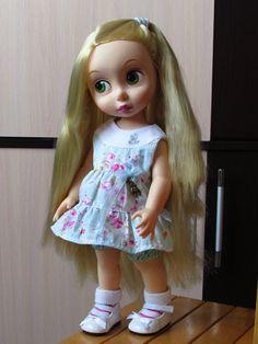 Disney Animator Doll, Rapunzel, Harajuku, Dolls, Style, Fashion, Baby Dolls, Swag, Moda