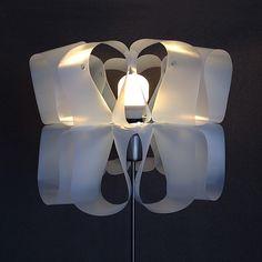 DIY: Upcycle milk cartons into MILKWAVES lampshade by Gilbert de Rooij