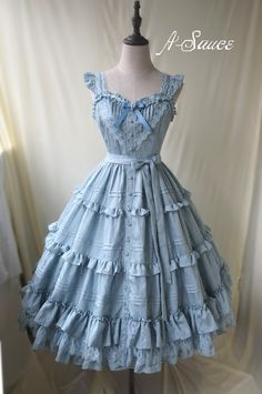 To My Dear Cinderella Vintage Classic Lolita Jumper Dress