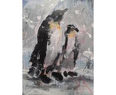 Alex Arnell Penguins 7 Size(HxWxD):20x15x2cm £75.00