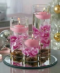 Best Snap Shots Floating Candles with flowers Popular Obtaining along with generally produces excellent mood, the mood is defined in particular when you a Floating Candle Centerpieces, Elegant Centerpieces, Centerpiece Ideas, Centerpiece Flowers, Decoration Evenementielle, Wedding Table Centerpieces, Wedding Decorations, Quinceanera Decorations, Birthday Decorations