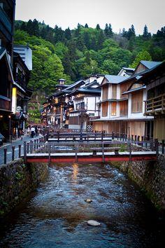 Ginzan Onsen, Yamagata, Japan 銀山温泉