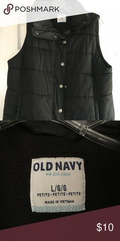 Old navy black puffe