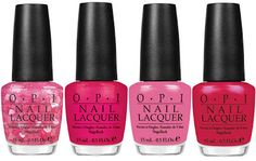 OPI Minnie Mouse collection...so cute for summer toes! NEED