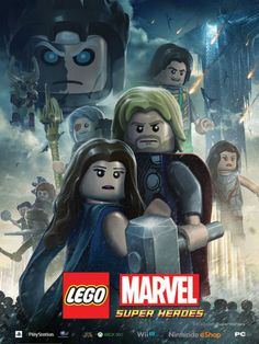 """¿Te imaginas a """"Thor: El Mundo Oscuro"""" en Lego? ¡Mira el nuevo [POSTER]!"""