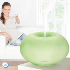 Aroma-Diffuser Milano Plus mit LED-Farbwechsel