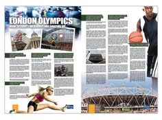 Double Page Spread Design on Olympics Security from Mass Appeal
