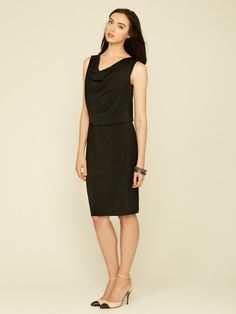 Cowl Neck Dress by One Forty 8 by Lafayette 148 New York on Gilt.com