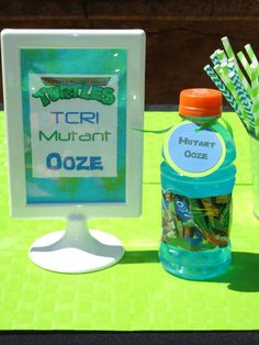 TMNT Teenage Mutant Ninja Turtle Birthday Party Ideas | Photo 1 of 29 | Catch My Party