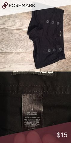 Express Shorts Cool button closure. Lightly worn and in perfect condition. Express Shorts