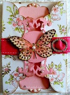 Beautiful. Butterfly. Card